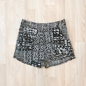 Urban Outfitters Aztec Flowy Shorts